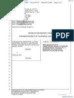 CLRB Hanson Industries, LLC et al v. Google Inc. - Document No. 78