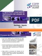 6.- Optimizacion Llenado Botaderos - A Quezada - Core Mining