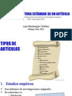 Estructura de Articulo según APA