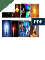 Imagenes de Reflejo y Produccion de Luz