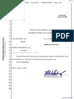 USA Scientific, Inc. v. Rainin Instrument, LLC - Document No. 6