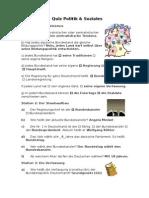 Block 3 Politik & Soziales Lösungsbogen