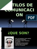 estilosdecomunicacionestilos de comunicacion