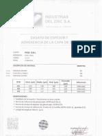Certificado de Calidad FYCO