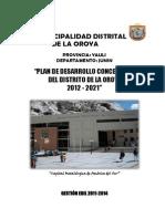 distrital oroya