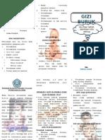 Leaflet Gizi Buruk skali