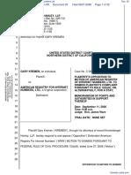 Kremen v. American Registry For Internet Numbers Ltd. - Document No. 20