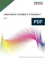 Laboratório Contábil e Tributário I