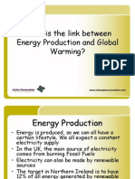 What is the Link Between Energy Production