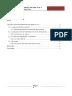 1.3 Desarrollo de productos y Servicios