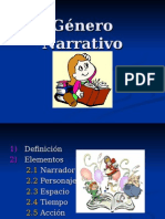 Elementos Del Texto Narrativos 5to Hoy.