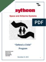 defend a child program proposal