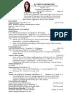 ued 495-496 reinke lauren resume