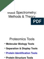Ahn a Mass Spec Methods Theory