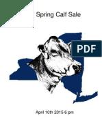 new york brown swiss spring calf sale