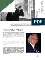 RICHARD MEIER ANALISIS DE LA FORMA