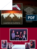 Digital Booklet - Master of Puppets