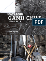 Catalogo Gamo Chile
