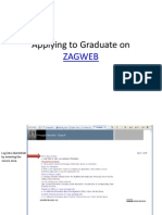 Apply to Graduate Instructions