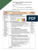 Sesion de Interprendizaje y Comvivencia Intercultural (Matematica)