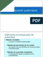 El Presupuesto Publicitario