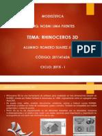 Exposición Rhinoceros 3d