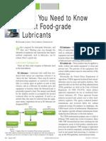 Foodgrade Lubricants