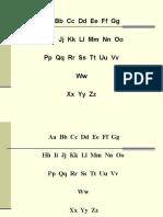 4  алфавит