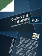 COSTOS POR ORDENES SISTEMA DE CONTABILIDAD