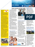 Business Events News for Fri 10 Apr 2015 - Business events on the radar, Sunshine Coast flights to boost biz, Brisbane conf numbers up, Ben on BEN, and much more
