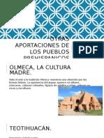 Otras Aportaciones de Los Pueblos Prehispanicos