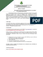 Edital Processo Seletivo 2015-02-27 - Remanescentes