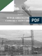 Rebar Arrangement and Construction Carryout