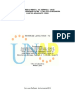 Informe Componente Practico Control Analógico