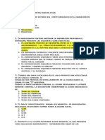 Banco de Preguntas Radiologia