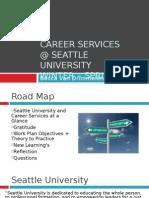 career services internship presentation