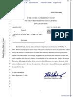Google Inc. v. American Blind & Wallpaper Factory, Inc. - Document No. 191