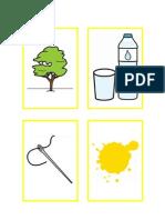 CONSTRUCCIÓN DE FRASES - Objetos