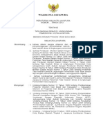 Perwal Tatanaskah Dinas Pemerintah Kota Jayapura