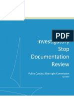 wcms1p-Investigatory Stop Documentation Review