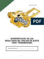 Modulo III INTERPRETACION  DE LOS RESULTADOS DEL ANALISIS DE ACEITE PARA  TRANSMISIONES.pdf