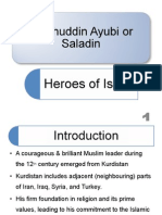 Hero Of Islam Sultan Salah Uddin Ayyubi