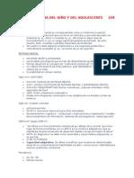 Psicopatología Del Niño y Del Adolescente 1er Parcial