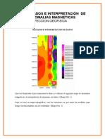Resultados e Interpretación de Datos magneticos