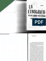 Guber_La Etnografía Intro