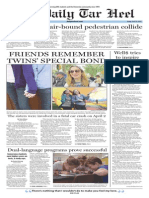 The Daily Tar Heel for April 10, 2015