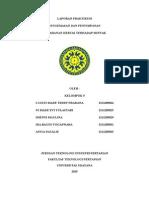Laporan Praktikum Pengemasan Dan Penyimpanan Kertas Terhadap Minyak