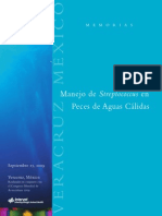 Manejo de streptococcus en peces de aguas cálidas