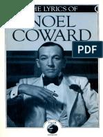 Coward - The Lyrics of Noel Coward