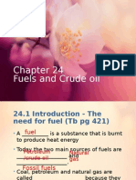2015 Fuels and Crude Oil